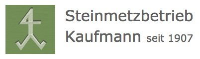 Steinmetzbetrieb Kaufmann Logo